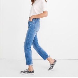SALE ⬇️ NWT MADEWELL CLASSIC STRAIGHT JEANS -24